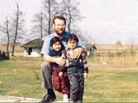 عکس علی لاریجانی و فرزندان