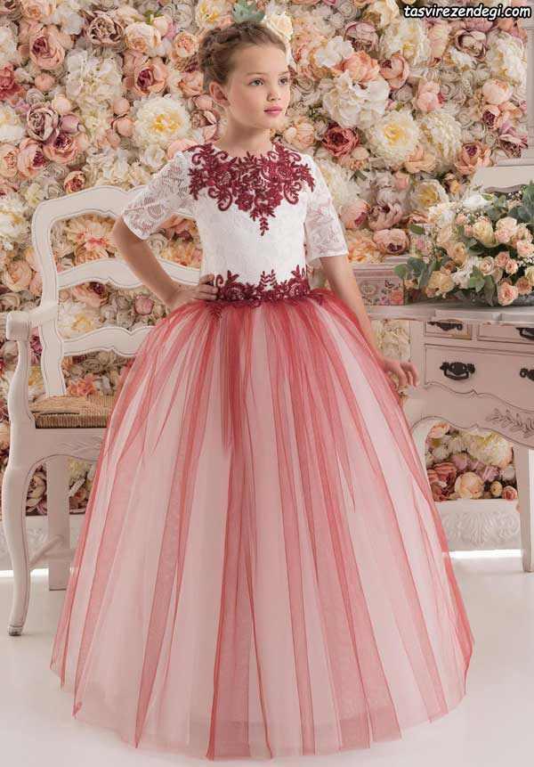 مدل لباس مجلسی پرنسسی جدید