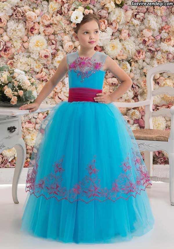 لباس مجلسی دختربچه زیبا