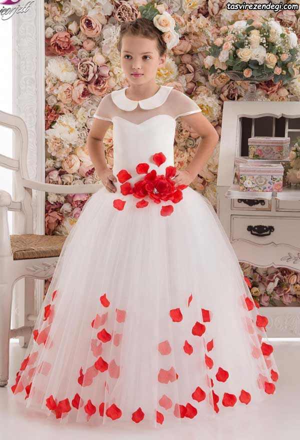 لباس مجلسی بچگانه پرنسسی