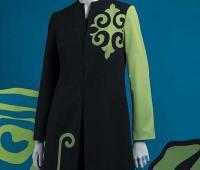 مدل مانتو مجلسی ایرانی مشکی و سبز
