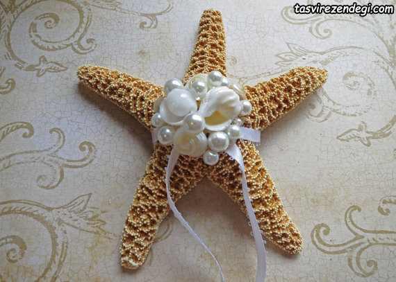 مدل جا حلقه ای عروس ستاره