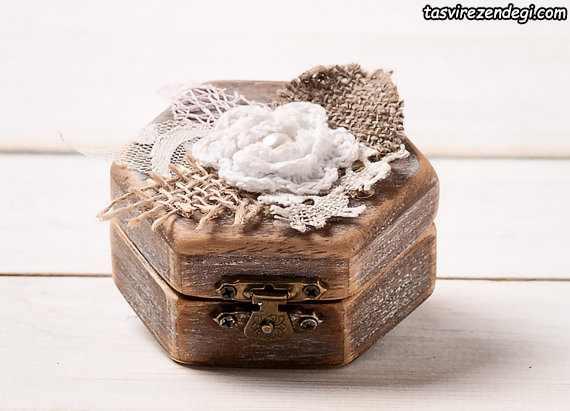 مدل جا حلقه ای عروس جعبه
