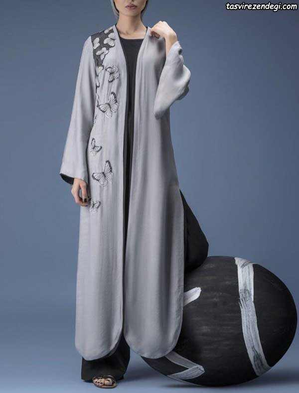 مدل مانتو تابستانی بلند عبایی