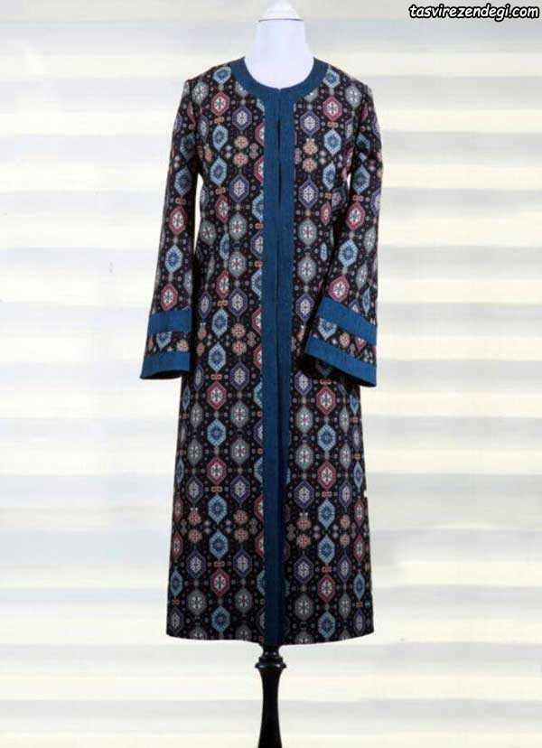 مدل مانتو زسمی سنتی بلند