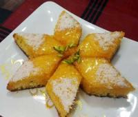 طرز تهیه کیک خیس پرتقالی