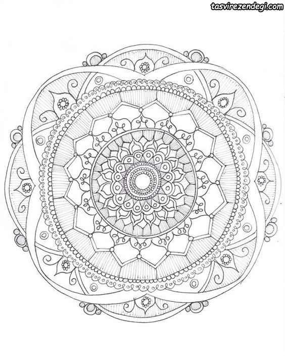 طرح خام نقاشی نقطه ای