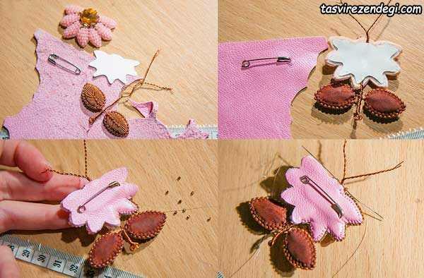 آموزش ساخت سنجاق سینه , زیورآلات دست ساز