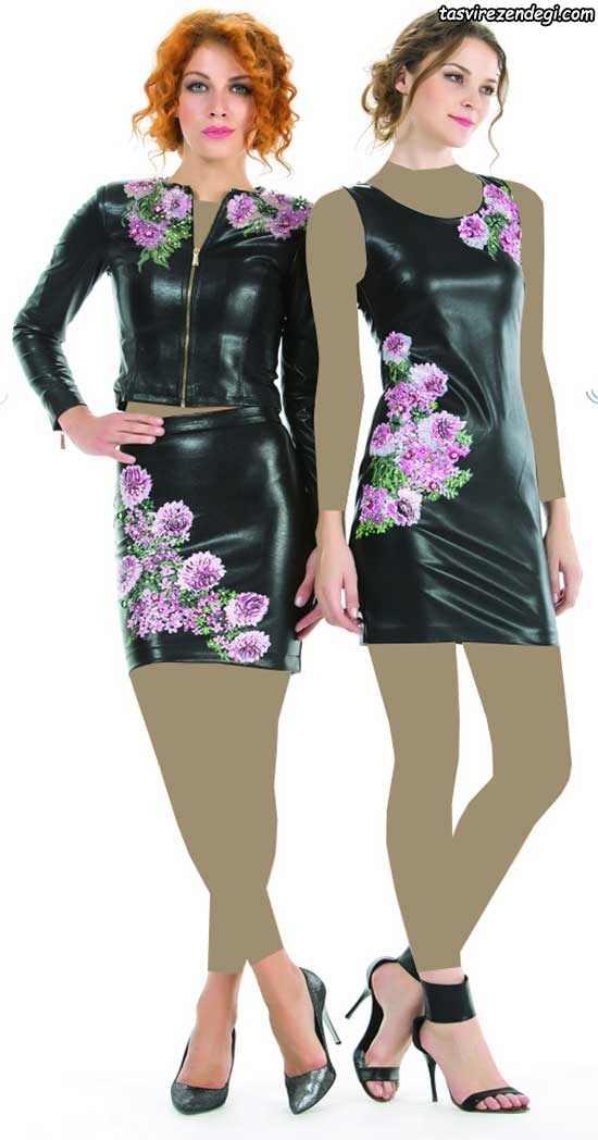 کت و دامن ترکیه ای , مدل لباس مجلسی ترکیه ای