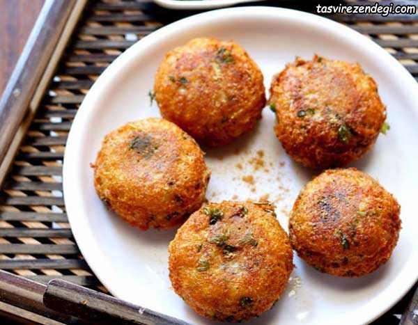 کوکو سیب زمینی پاکستانی