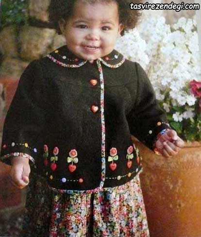 آموزش گلدوزی با دست, تزیین لباس بچه