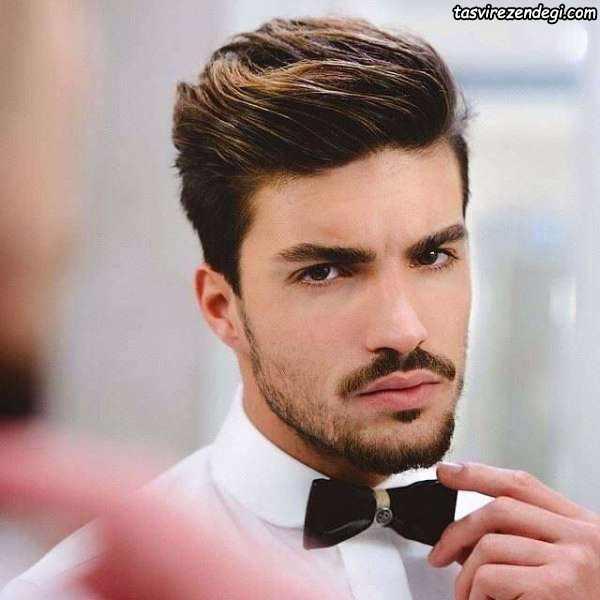 مدل مو خامه ای بلند , مدل مو مردانه جدید