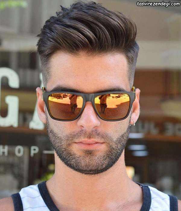 مدل مو خامه ای کوتاه , مدل مو مردانه جدید