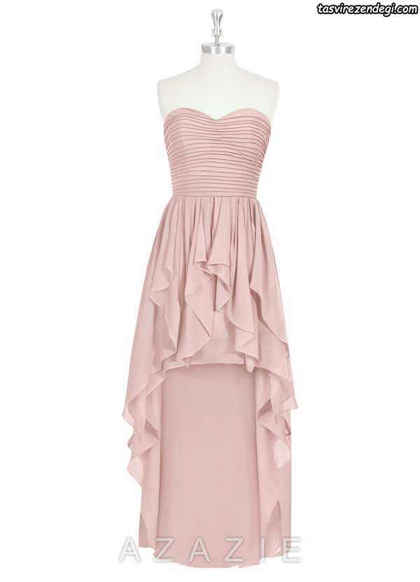 مدل لباس دکلته مجلسی بلند