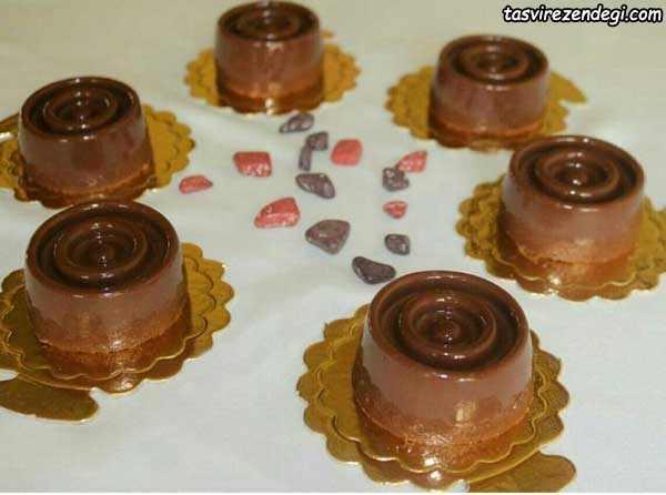 دسر شیر کاکائو