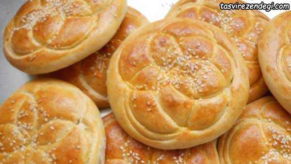 طرز تهیه نان فطیر سنتی هشترود