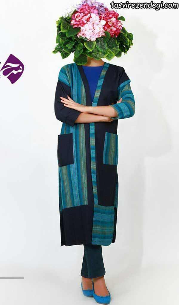 مدل مانتو تابستونی جدید کیمونو
