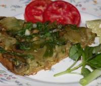 طرز تهیه پن کیک سبزیجات