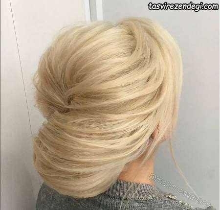 مدل شینیون مو بسته دخترانه و زنانه