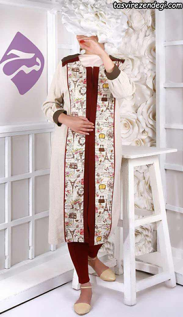 مدل مانتو مجلسی سنتی بلند