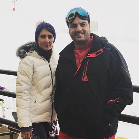 عکس سام درخشانی و همسرش,تصاویر بازیگران با همسرانشان