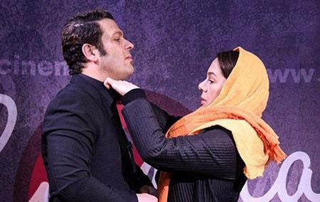 عکس پژمان بازغی و همسرش , تصاویر بازیگران با همسرانشان