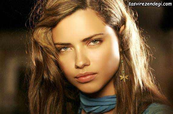 عکس آدریانا لیما دختر زیبای خارجی
