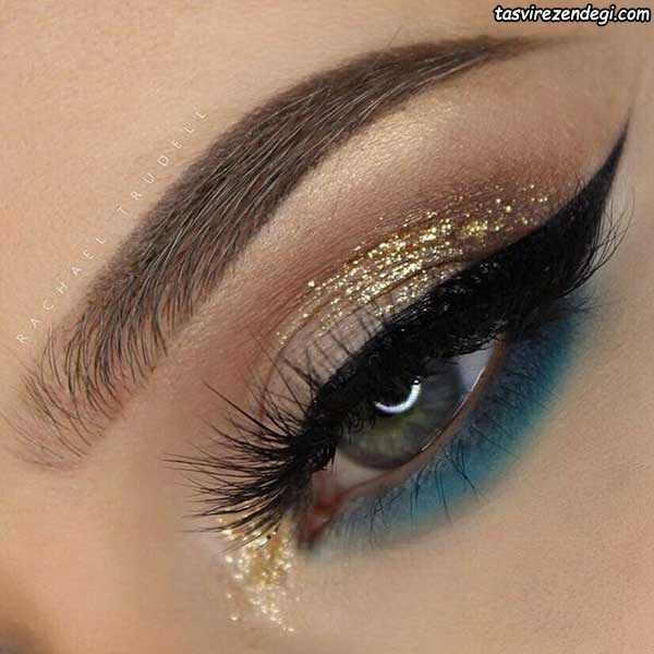 آرایش چشم عروس 96