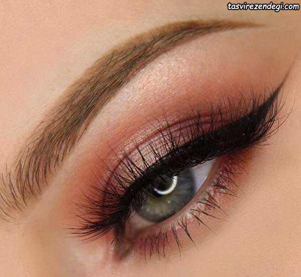 آرایش چشم لایت عروس