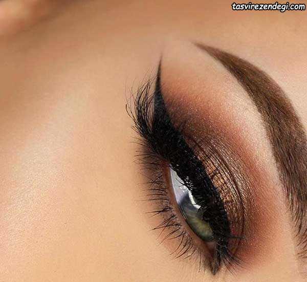 آرایش چشم لایت دخترانه