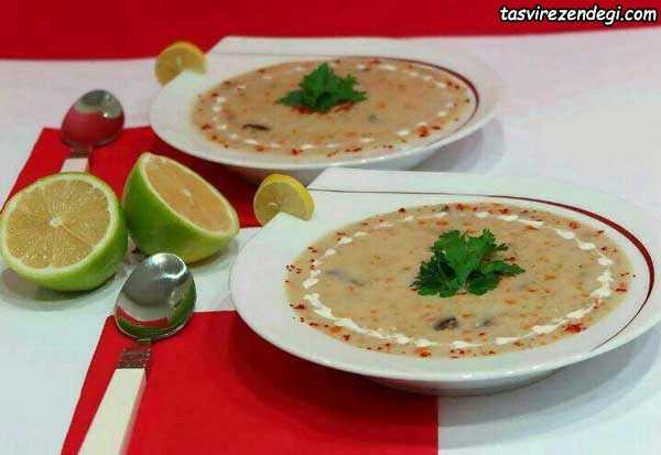 تزیین سوپ, تزیینات سفره افطار