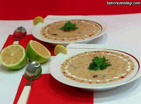 سوپ شیر , سوپ سفید
