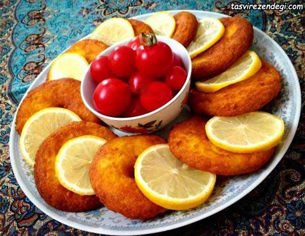 شامی پوک با گوشت مرغ