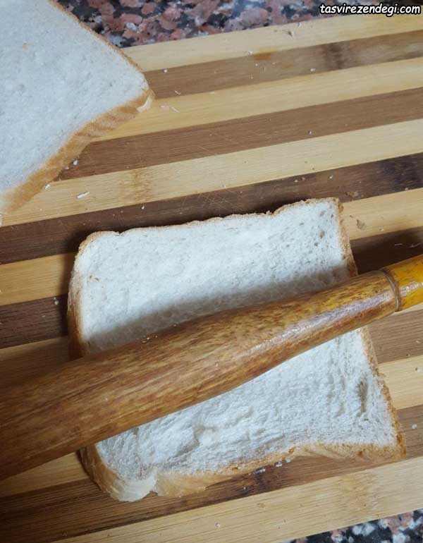 طرز تهیه قطایف با نان تست