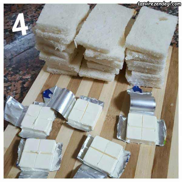 طرز تهیه لگیمات پنیری