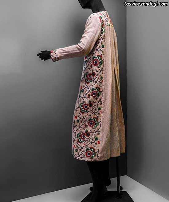 مدل دامن مانتو بیرون مانتو بلند تابستانی نخی شیک انـه و   زنانـه جدید - مجله ... mimplus.ir