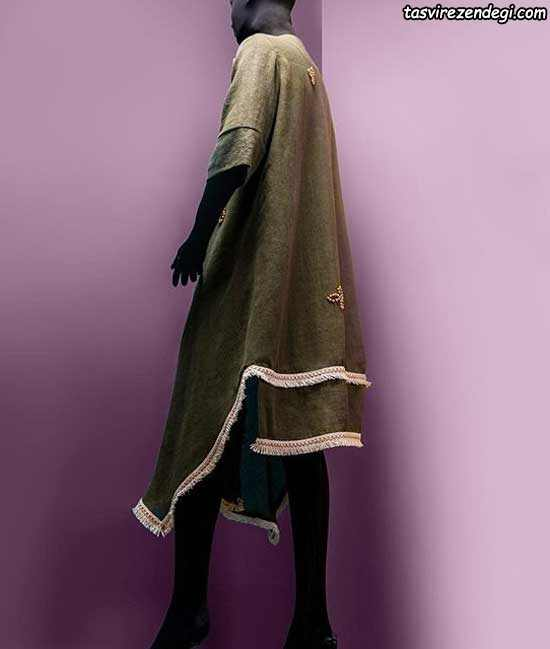 مدل مانتو کیمونو تابستانه جدید