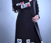 مدل مانتو مشکی مجلسی دخترانه