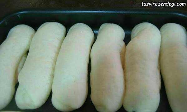 طرز تهیه نان باگت خانگی, نان ساندویچی