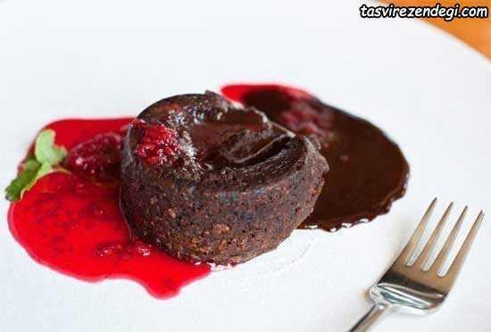 کاپ کیک آتشفشانی