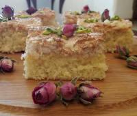 کیک با روکش نارگیلی