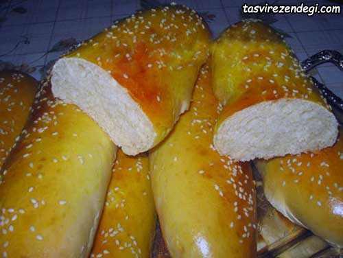 طرز تهیه نان ساندویچ خانگی