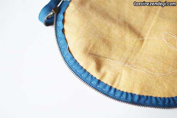 آموزش دوخت کیف آرایش