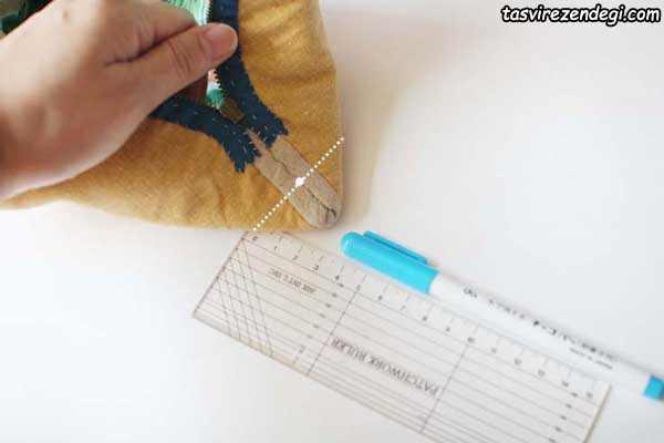 آموزش دوخت کیف پارچه ای