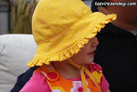 آموزش دوخت کلاه دخترانه تابستانی
