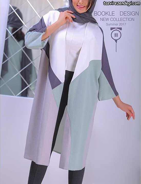 مدل مانتو تابستانی کیمونو مجلسی