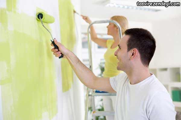 از بین بردن بوی رنگ در خانه