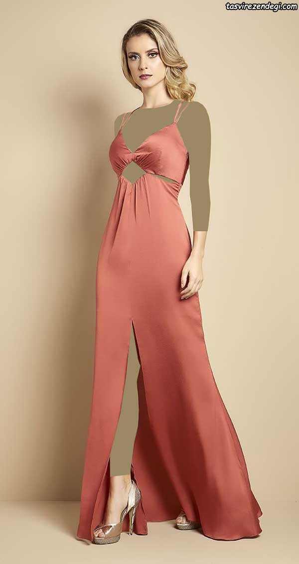 مدل لباس مجلسی دو بندی