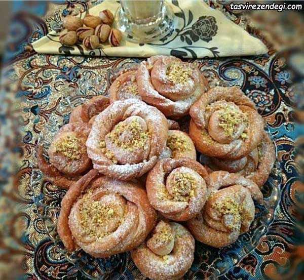 شیرینی گل ترکیه
