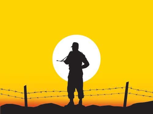پست دادن سرباز - عکس پروفایل سربازی